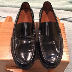 Tod's Women's patent leather loafers